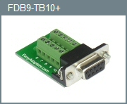 Female DB-9 10-Position Adapter
