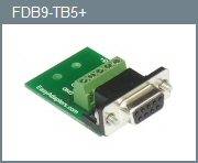 Female DB-9 5-Position Adapter