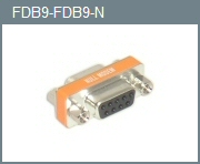 DB-9 F/F Mini Null Modem Adapter